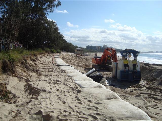 Mooloolaba Beach Sand Reclamation Pipeline