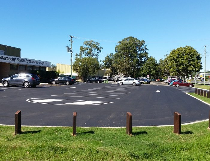 Wises Road Gymnastics and Beerwah Sports Carparks