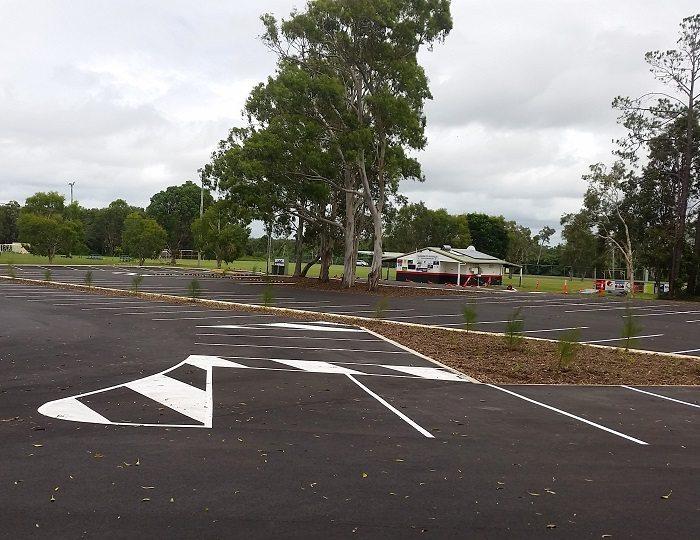 Caloundra Soccer Club Carpark