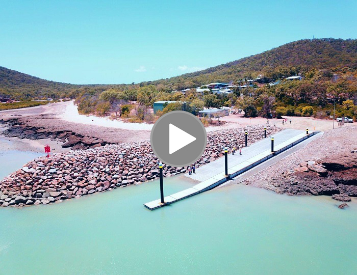 Stanage Bay Boat Ramp Reconstruction