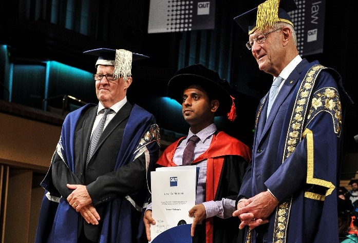 Lavan Sundararajah completion of PhD