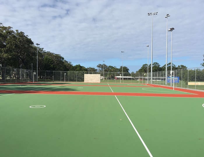 Bribie Island Recreation Reserve Netball Courts